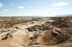 Valley of the Moon - Ischigualasto Provincial Park - Argentina Stock Photos