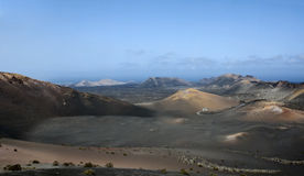 Valley with mountains. In Canary islands Stock Photo