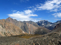 Valley in the Mountains. Valley in the Altai Mountains, Siberia, Russia Royalty Free Stock Images