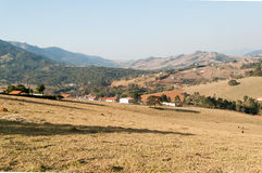 Valley between the mountains Stock Photos