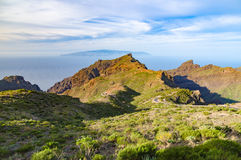 Valley and mountains of Masca, Tenerife Royalty Free Stock Photos