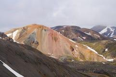 Valley of national park Landmannalaugar,Iceland. Royalty Free Stock Photos