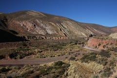 Valley near Humahuaca Stock Image