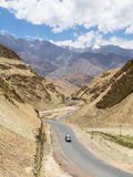 In a valley near Leh in Ladakh, India Royalty Free Stock Photography