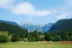 Valley Near Stara Fuzina Stock Photography