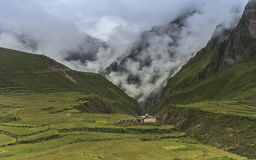 Valley in nepal Royalty Free Stock Image