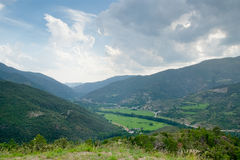 Valley Norguera Pallaresa Royalty Free Stock Photography