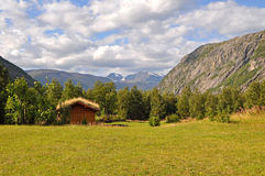 Valley in northern Norway Stock Photo