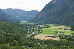 Valley in Norway Stock Photography