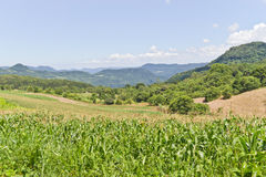 Valley in Nova Petropolis - Rio Grande do Sul - Brazil Stock Images