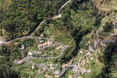 Valley of the Nuns, Curral das Freiras on Madeira Island, Stock Images