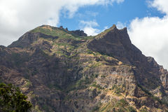 Valley of the Nuns, Curral das Freiras on Madeira Island Royalty Free Stock Photography