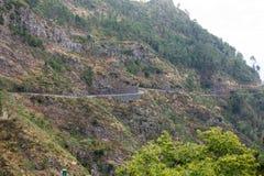 Valley of the Nuns, Curral das Freiras on Madeira Island, Stock Image