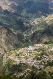 Valley of the Nuns, Curral das Freiras on Madeira Island, Royalty Free Stock Photos