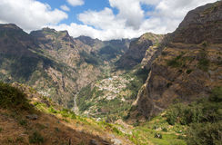 Valley of the Nuns, Curral das Freiras on Madeira Island,. Portugal Royalty Free Stock Photo