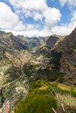 Valley of the Nuns, Curral das Freiras on Madeira Island, Royalty Free Stock Photography