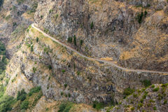Valley of the Nuns, Curral das Freiras on Madeira Island, Royalty Free Stock Image