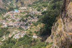 Valley of the Nuns, Curral das Freiras on Madeira Island, Royalty Free Stock Photo
