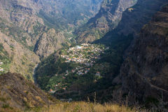 Valley of the Nuns (Curral das Freiras) - Madeira - Portugal Stock Image