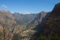 Valley of the Nuns (Curral das Freiras) - Madeira - Portugal Royalty Free Stock Photos