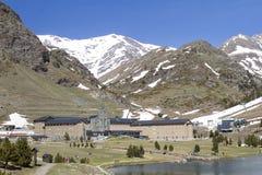 Valley of Nuria, Spain Stock Photo