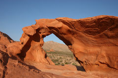 Free Valley Of Fire - Arch Rock Stock Photo - 6919620