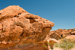 Free Valley Of Fire Rock Formation Royalty Free Stock Images - 6681399