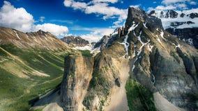 Valley Of The Ten Peaks, Moraine Lake, Alberta, Canada, Beautiful Landscape, Banff National Park Stock Photos