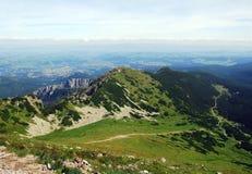 Valley panorama Stock Image