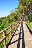 Valley pathway Stock Photo