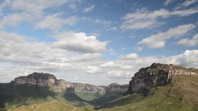 Valley of Pati in Chapada Diamantina, Brazil. Chapada Diamantina National Park, Bahia state, Brazil stock video