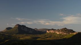 Valley of Pati in Chapada Diamantina, Brazil. Chapada Diamantina National Park, Bahia state, Brazil stock footage