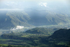 Valley of Pokhara Stock Images