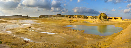 The valley  after raining, Oman Stock Photography