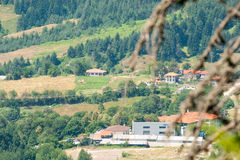 The valley in the Rhodope Mountains. Bulgaria Royalty Free Stock Photography