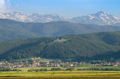 Valley in Rila Stock Photography