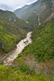 Valley river Baliem , island New Guinea. Valley river Baliem at island New Guinea royalty free stock images