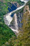 Valley river Baliem at  New Guinea Stock Images