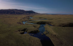 Valley river in Iceland Royalty Free Stock Photo