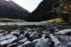 Valley river and landscape Royalty Free Stock Photos