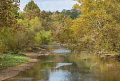 Valley River in Murphy, North Carolina Stock Photo