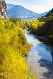 Valley of river Verdon Stock Photos