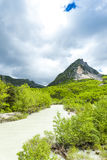 Valley of river Verdon Stock Photography
