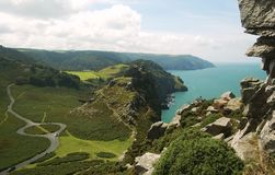 Valley of the Rocks Royalty Free Stock Photos