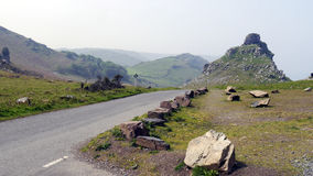 The Valley of Rocks Exmoor National Park Royalty Free Stock Image