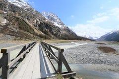 Valley of Roseg, Switzerland Royalty Free Stock Photo