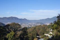 Valley of San Cristobal de las Casas, Chiapas Royalty Free Stock Photo