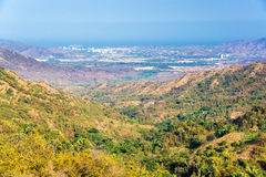 Valley and Santa Marta Stock Images