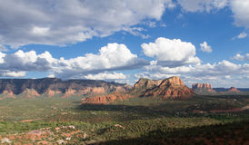 Valley of Sedona Royalty Free Stock Image