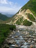 Valley Stream through Sapa Royalty Free Stock Photo
